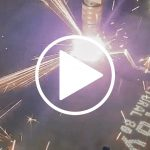 Watch our Plasma Cutting Machine in Action!